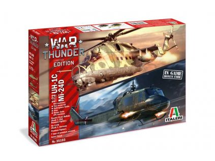 Model Kit vrtulniky War Thunder 35103 UH 1C MI 24D 1 72 a100677446 10374