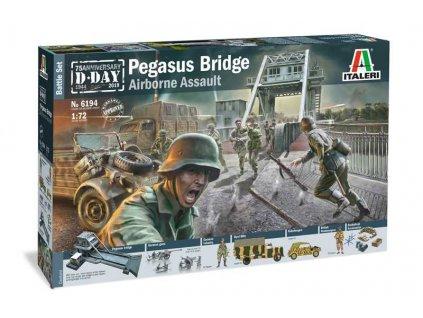 Model Kit diorama 6194 Pegasus Bridge Airborne Assault 1 72 a100677729 10374