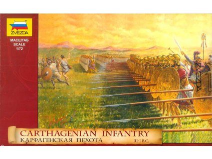 Model Kit figurky 8010 Carthagenian Infantry 1 72 a98930570 10374