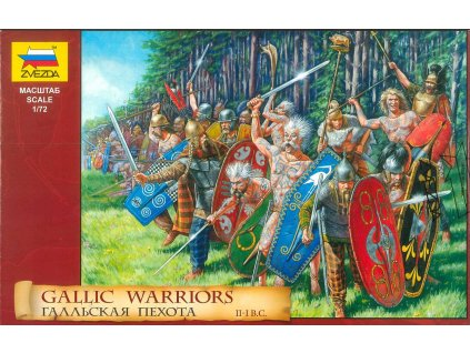 Model Kit figurky 8012 Gallic Warriors 1 72 a98930591 10374