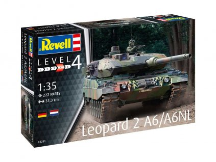 Plastic ModelKit tank 03281 Leopard 2 A6 A6NL 1 35 a99291331 10374