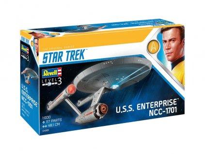 Plastic ModelKit Star Trek 04991 U S S Enterprise NCC 1701 TOS 1 600 a99288853 10374