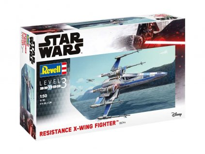 Plastic ModelKit SW 06744 Resistance X Wing Fighter 1 50 a99288725 10374