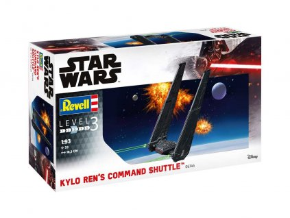 Plastic ModelKit SW 06746 Kylo Ren s Command Shuttle 1 93 a99288792 10374