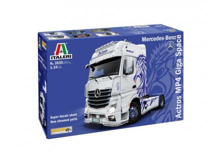 Model Kit truck 3935 Mercedes Benz ACTROS MP4 Giga Space 1 24 a88793838 10374