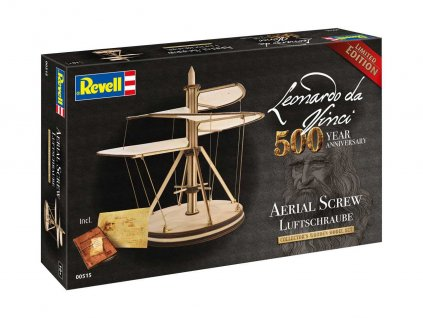 Leonardo edice 00515 Aerial Screw Leonardo da Vinci 500th Anniversary 1 48 a99286843 10374