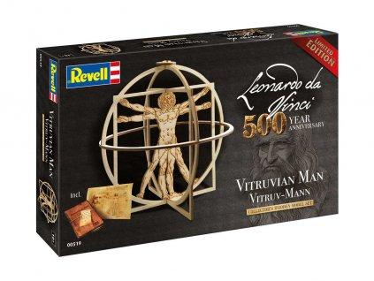 Leonardo edice 00519 Vitruv Man Leonardo da Vinci 500th Anniversary 1 16 a99287325 10374