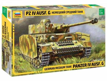 Model Kit tank 3674 Panzer IV Ausf G 1 35 a98929784 10374