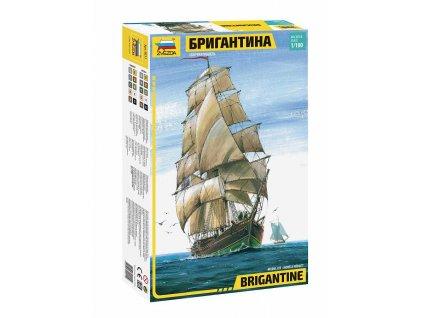 Model Kit lod 9011 English Brigantine RR 1 100 a98930646 10374