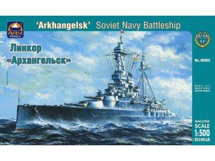 ba orig 3344983187 starozitnosti a zberatelstvo modelarstvo ark models 40005 battleship arkhangelsk m