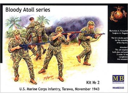 'Bloody Atol' U.S. Marine Corps Infantry 1:35