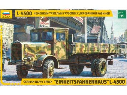 Model Kit military 3647 L 4500 Einheitsfahrerhaus RR 1 35 a98928183 10374