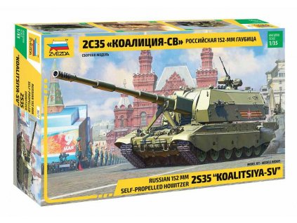 Model Kit military 3677 Koalitsiya SV Russian S P G 1 35 a98928452 10374