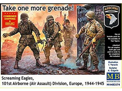 US Paratroopers, Europe, 1944-1945 1:35