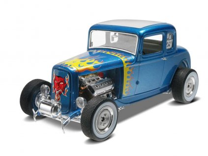 Plastic ModelKit MONOGRAM auto 4228 32 Ford 5 Window Coupe 1 25 a99951764 10374