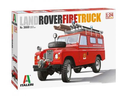 Model Kit auto 3660 Land Rover Fire Truck 1 24 a88794396 10374