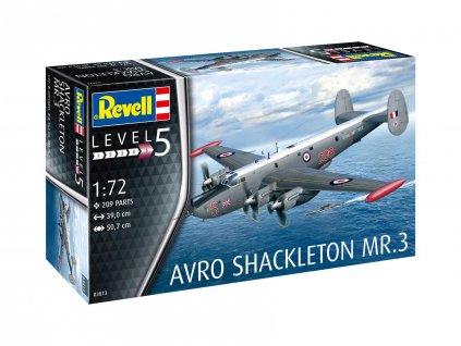 Plastic ModelKit letadlo 03873 Avro Shackleton Mk 3 1 72 a99289277 10374