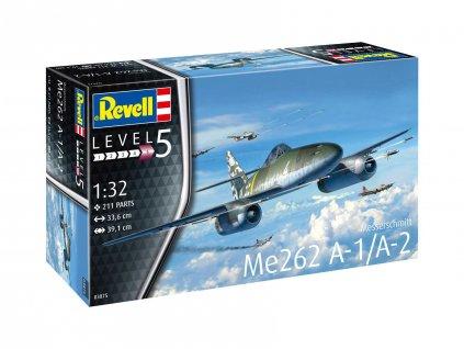Plastic ModelKit letadlo 03875 Me262 A 1 Jetfighter 1 32 a99289436 10374