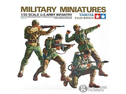 US Army Infantry 1:35