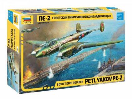 Model Kit letadlo 7283 Petlyakov Pe 2 1 72 a98930313 10374