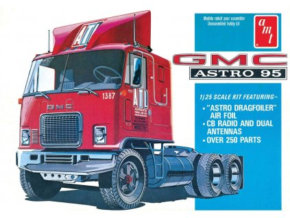 GMC Astro 95 Semi Tractor 1:25