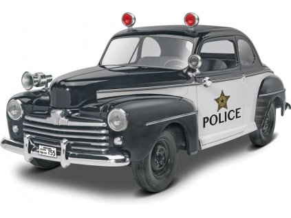 Plastic ModelKit MONOGRAM auto 4318 48 Ford Police Coupe 2 n 1 1 25 a99951800 10374
