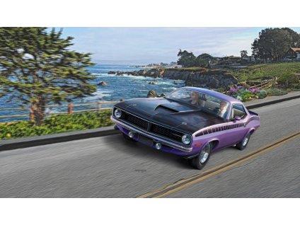 1970 Plymouth AAR Cuda ModelSet 1:25