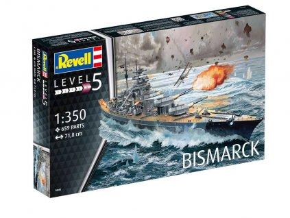 Plastic ModelKit lod 05040 Battleship BISMARCK 1 350 a21304160 10374