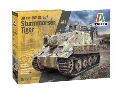 Model Kit military 6573 38 cm RW 61 auf STURMMORSER TIGER 1 35 a103758935 10374