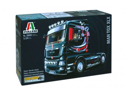 Model Kit truck 3895 MAN TGX XLX 1 24 a64215675 10374