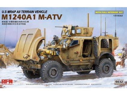 U.S MRAP All Terrain Vehicle M1240A1 M-ATV 1:35