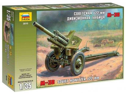 Model Kit military 3510 M30 Soviet Howitzer 122 mm 1 35 a63855117 10374