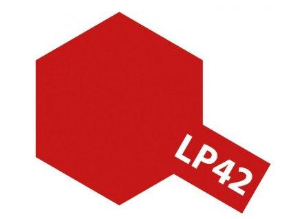 LP-42 Mica Red / červená metalíza