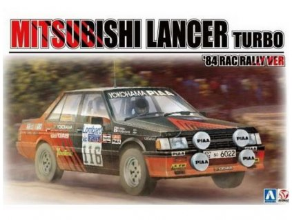 1984 Mitsubishi Lancer 2000 Turbo No.116 1:24