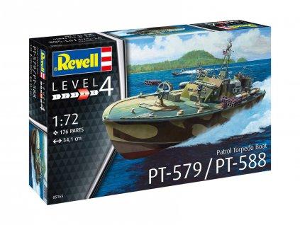 Plastic ModelKit lod 05165 Patrol Torpedo Boat PT 588 PT 579 1 72 a99290286 10374