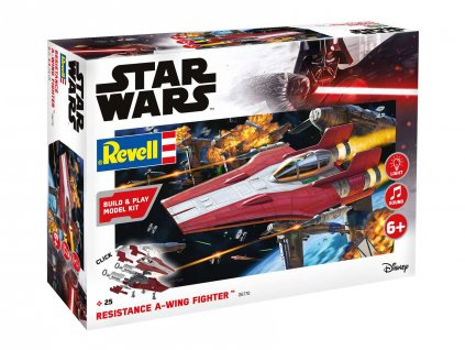 Build Play SW 06770 Resistance A wing Fighter red svetelne a zvukove efekty 1 44 a103408537 10374