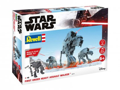 Build Play SW 06772 First Order Heavy Assault Walker svetelne a zvukove efekty 1 164 a103408549 10374