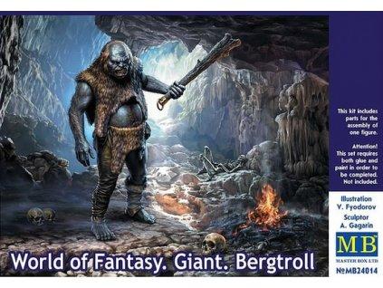 World of Fantasy. Giant.Bergtroll 1:24