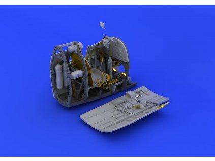 Spitfire Mk.II cockpit 1:32