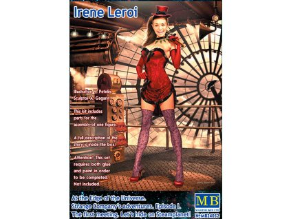 Irene Leroi. Let's hide on Steamplanet! 1:24