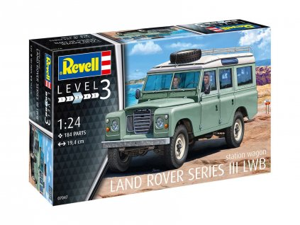 Plastic ModelKit auto 07047 Land Rover Series III 1 24 a99290792 10374