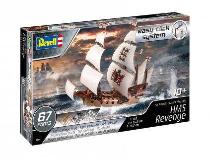 EasyClick Modelset lod 65661 HMS Revenge 1 350 a103408591 10374