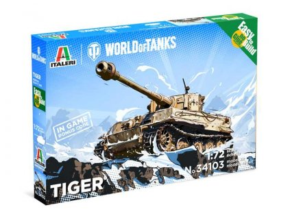 Easy to Build World of Tanks 34103 Tiger 1 72 a107041794 10374
