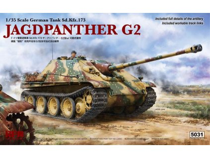 Jagdpanther G2 W/ Workable Track Links 1:35
