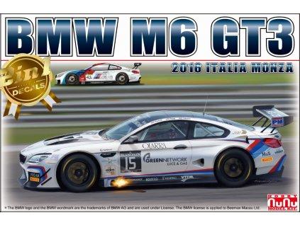 BMW M6 GT3 2016 Italia Monza 1:24