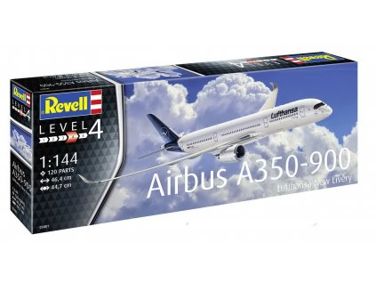 Plastic ModelKit letadlo 03881 Airbus A350 900 Lufthansa New Livery 1 144 a99289672 10374