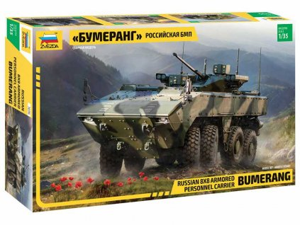 Model Kit military 3696 Bumerang Russian APC 1 35 a98929183 10374 (1)