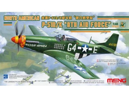 meng ls 010 148 north american p 51dk 8th air force