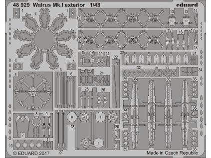 Detaily pre Walrus  Mk.I (Airfix) 1:48