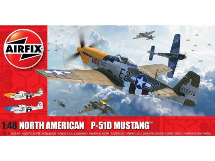 Classic Kit letadlo A05138 North American P 51D Mustang Filletless Tails 1 48 a99096815 10374